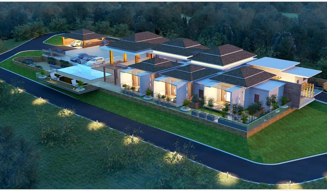 Farmhouse Design in Madikeri