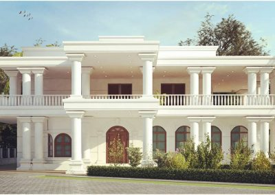 Colonial Style House for Mr. Ivan Dsouza