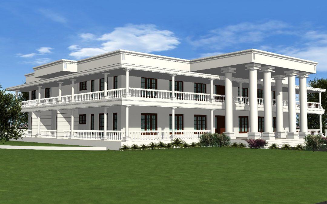 Residence For  Andhra CM YSR