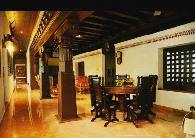 Guthus Style Residence Interior for Mr.Vidhyadhar Shetty