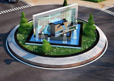 Fountain For AJIMS