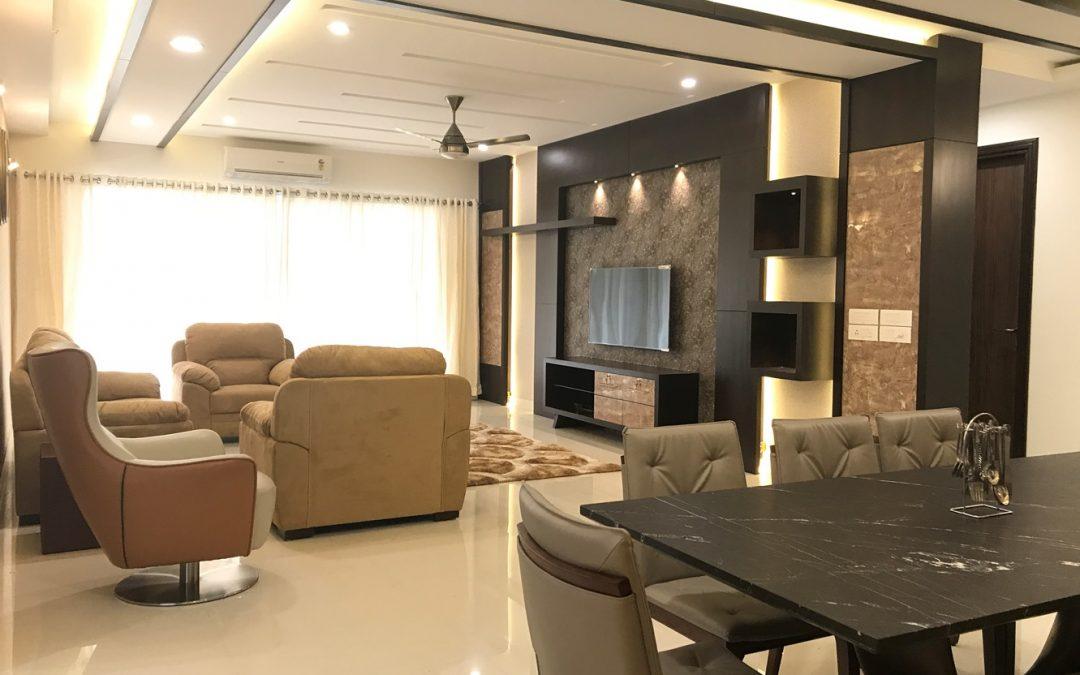 Apartment Interior Design for Dr.A.J.Shetty